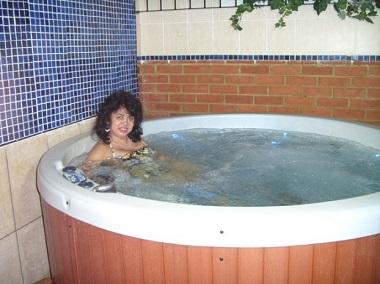 Sacha Health Club: Jacuzzi/Hot Tub
